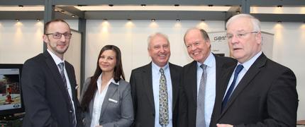 Niedersächsischer Landtagspräsident besucht GBS auf der CeBIT
